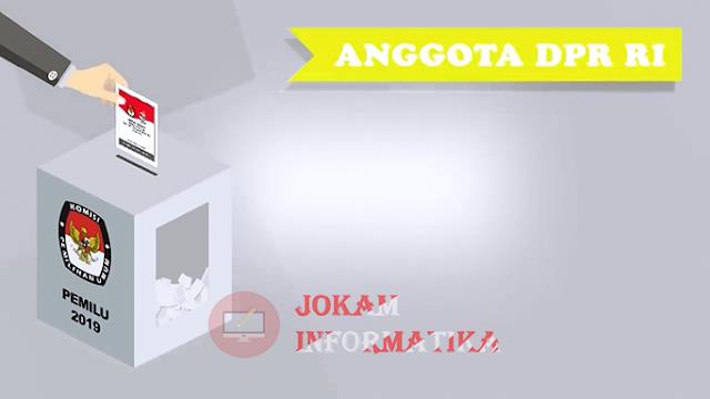 Informasi SAH Dan TIDAK SAH Suara Pemilihan Anggota DPR RI - JOKAM INFORMATIKA