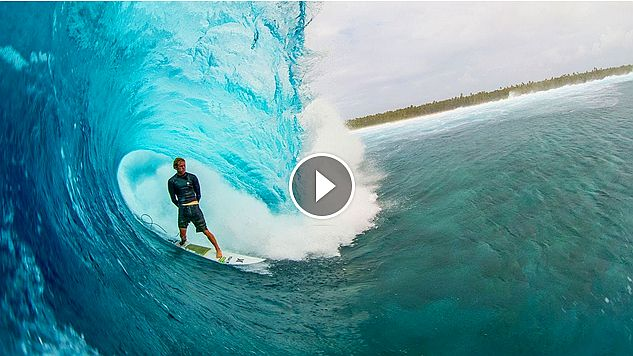 Ian Walsh Surfs Perfect Barrels with World Champ John John Florence Distance Between Dreams