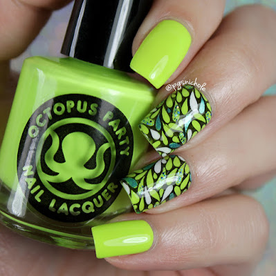 My First Nail Decals • Featuring Octopus Party Nail Lacquer Summer 2016