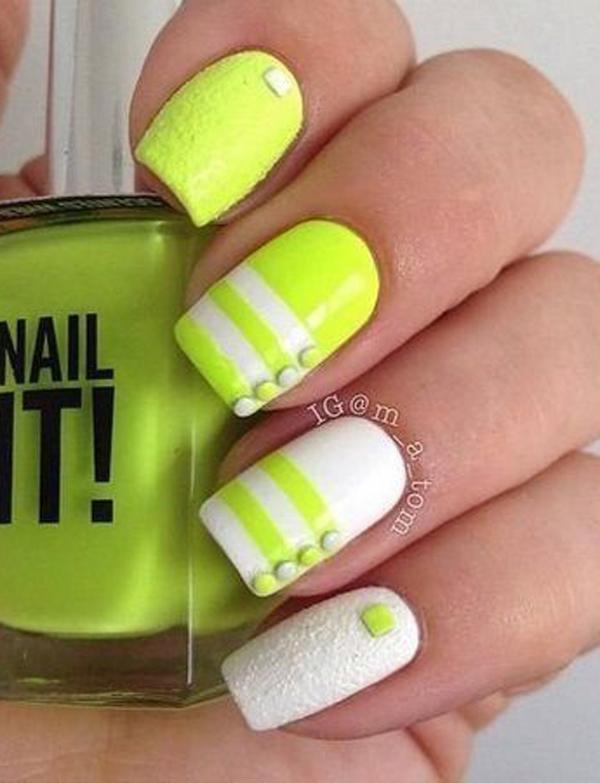 2016 New Yellow Nail Art Ideas 2016   Fashion Newby\'s