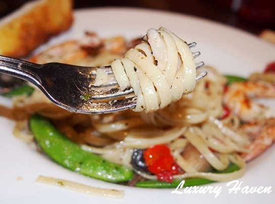 hard rock cafe penang linguine review