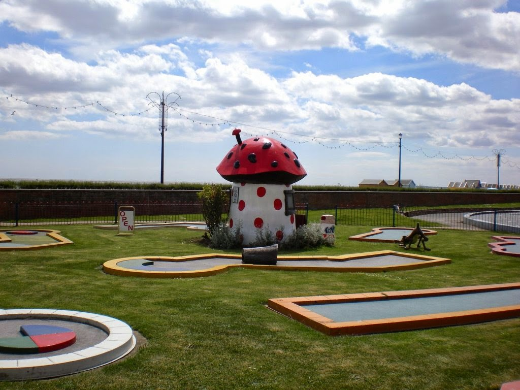 Crazy Golf in Felixstowe, Suffolk