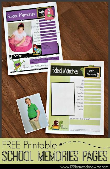 free-printable-school-memories-pages