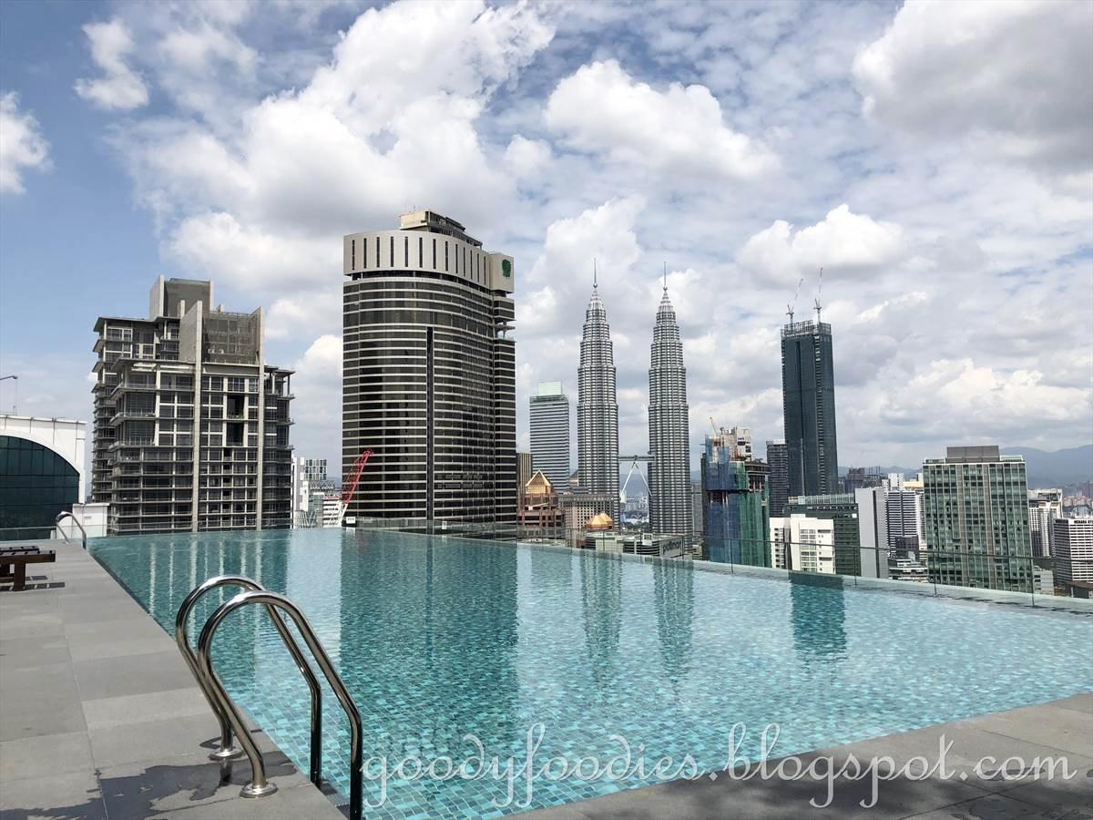 Goodyfoodies hotel review dorsett kuala lumpur - Rooftop swimming pool kuala lumpur ...