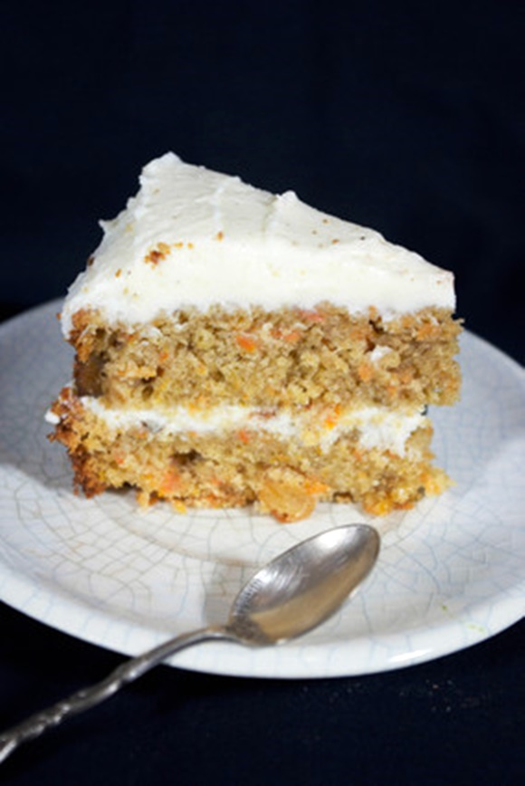 Carrot Cake Avec Glaçage