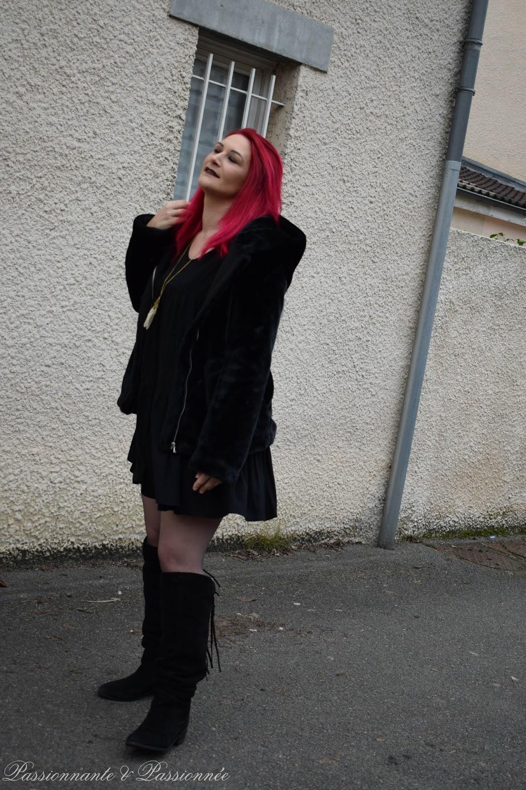 j'ai les cheveux rose