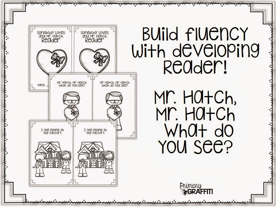 Primary Graffiti: Somebody Loves You, Mr. Hatch {Book