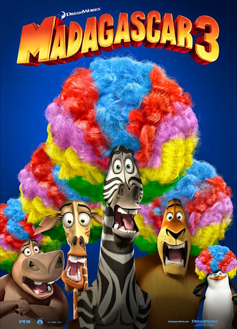 Madagascar 3: Europe's Most Wanted http://animatedfilmreviews.filminspector.com/2012/12/madagascar-3-europes-most-wanted-2012.html