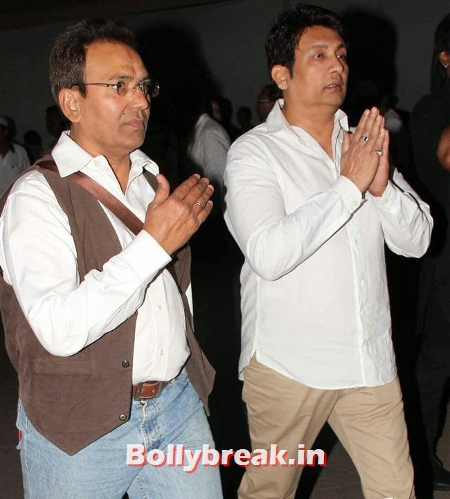 Shekhar Suman, Celebs at Farooq Sheikh Prayer Meet