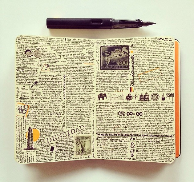 Art essay examples journal pages