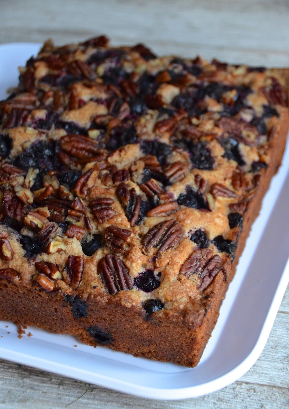 Cinnamon Blueberry Pecan Coffee Cake Always Order Dessert