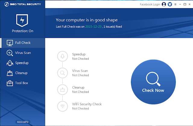 تحميل البرنامج المجانى 360Total Security لحماية حاسوبك وتسريعه 2016