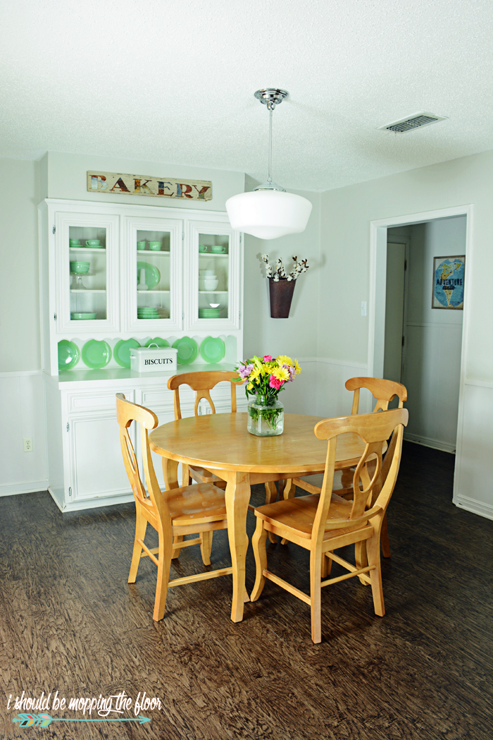 Budget Friendly Kitchen Makeover: I Should Be Mopping The Floor: Budget-Friendly Kitchen