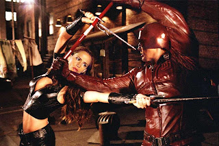 Ben Affleck Jennifer Garner Daredevil superhero movie