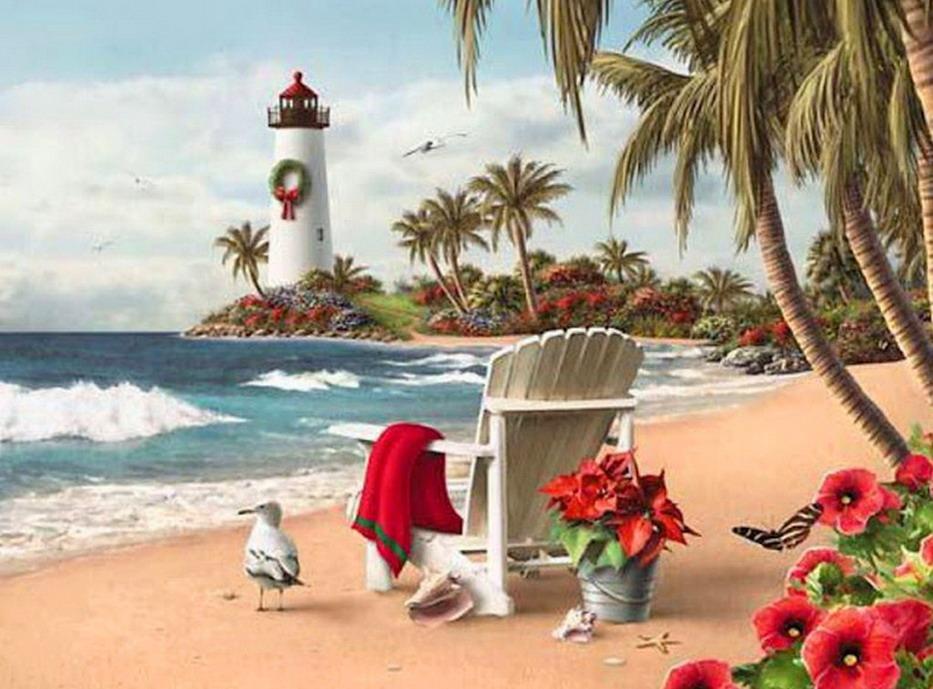Perfecto Playa Del Faro Para Colorear Festooning - Dibujos Para ...