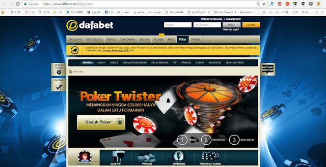 Poker Online Dafabet Indonesia