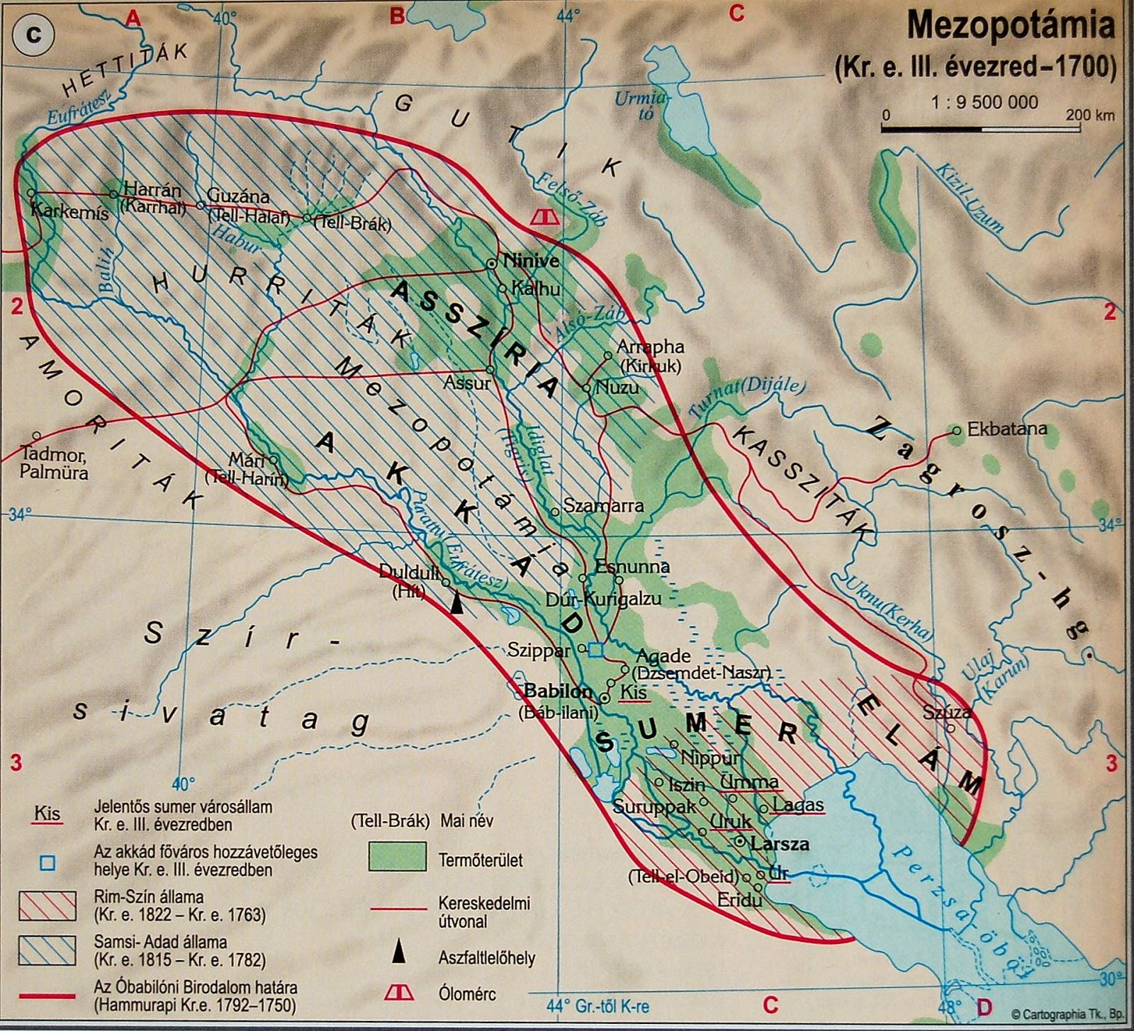 mezopotámia térkép kep telenseg: Térképek mezopotámia térkép