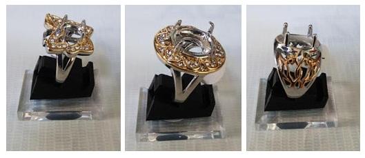 Cincin Titanium Kombinasi Wanita