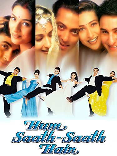 Poster Of Hum Saath Saath Hain 1999 720p Hindi DVDRip Full Movie Download