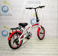 16 Inci Totoron 6 Speed Folding Bike