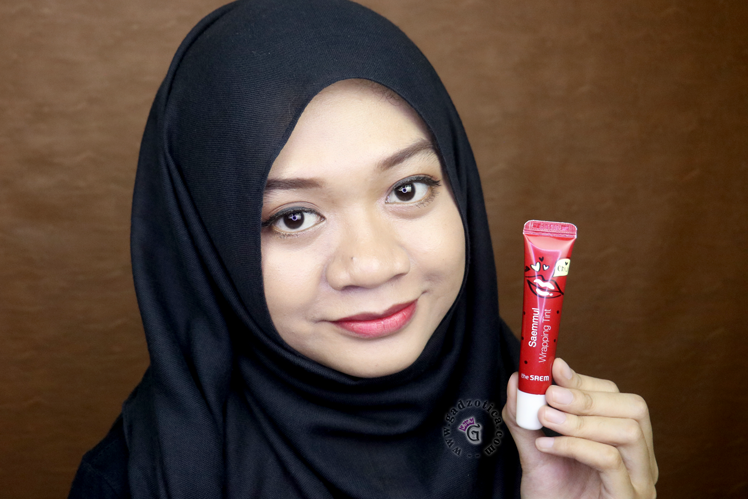 The Saem Saemmul Wrapping Tint RD02 Review