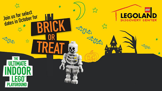 LEGOLAND Discovery Center Philadelphia, PA attractions, Halloween events,