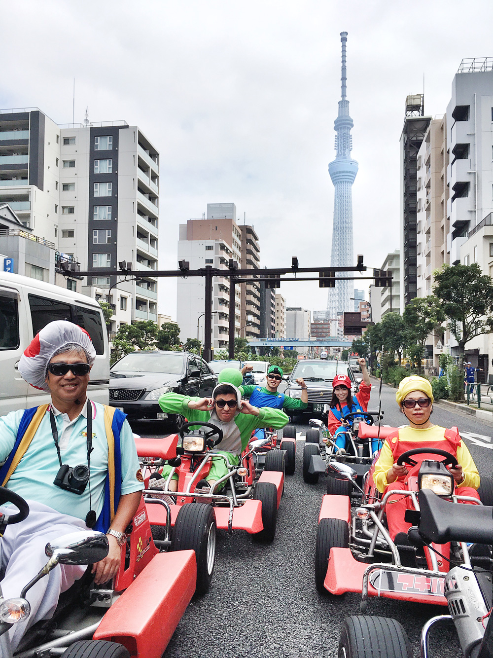 Real-Life Mario Kart in Tokyo, Japan - The Must Eat, Drink and Play in Tokyo