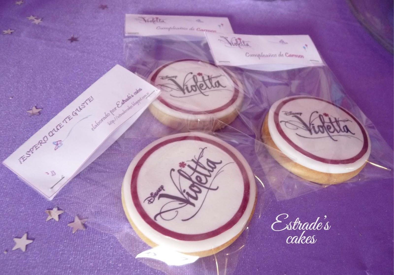 galletas de Violetta - 1