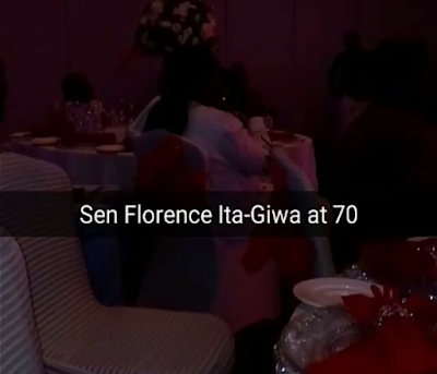 senator ita giwa 70th birthday photos ten