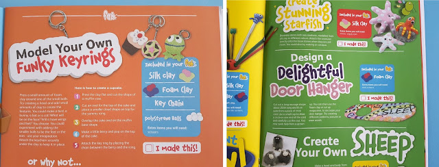 craft monthly box, children craft projects, different type of crafting clay