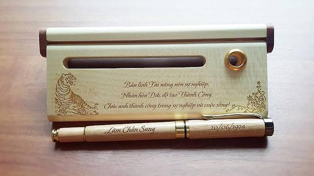 Bút kí làm quà tặng ý nghĩa