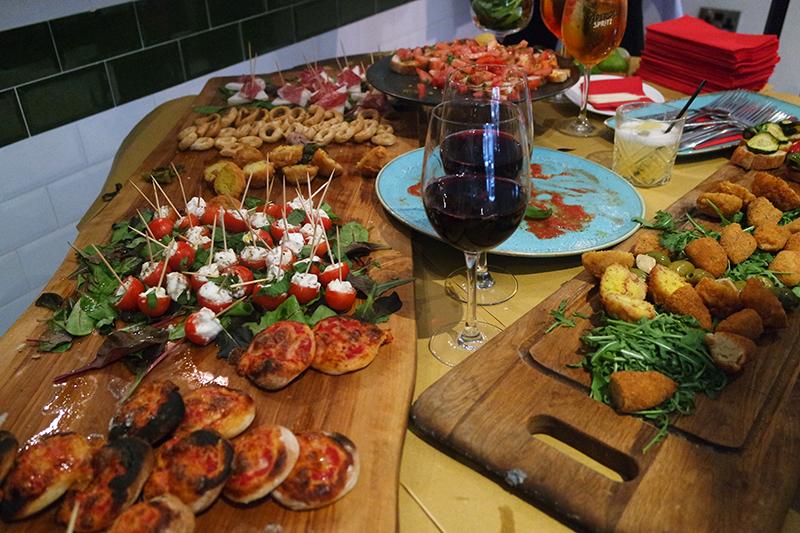 Italian Food at Salvi's Manchester