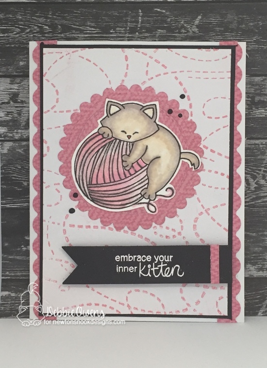 Embrace your inner kitten by Debbie features Newton Unwinds by Newton's Nook Designs; #newtonsnook