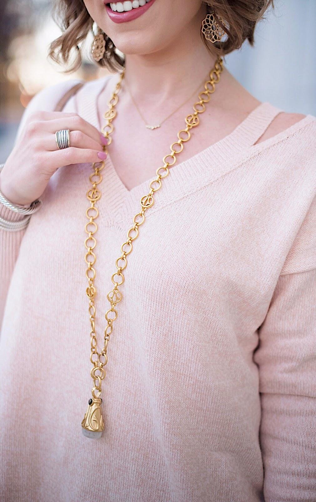 Julie Vos Necklace - Something Delightful Blog
