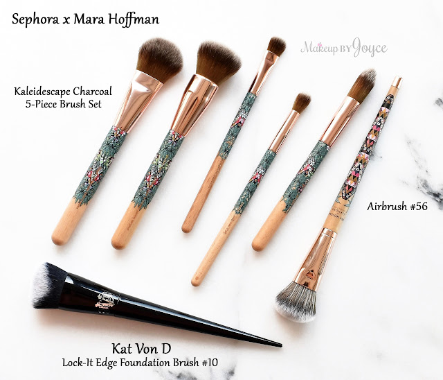 Kat Von D Lock It Edge Foundation Brush 10 Review