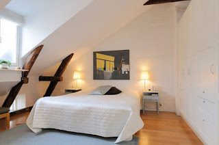 bentuk kamar tidur kecil minimalis