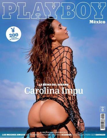 Playboy México: Carolina Impu – Junio2019