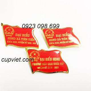Xưởng sản xuất huy hiệu, in huy hiệu giá rẻ nhất Hà Nội, làm huy hiệu cài áo bằng đồng,