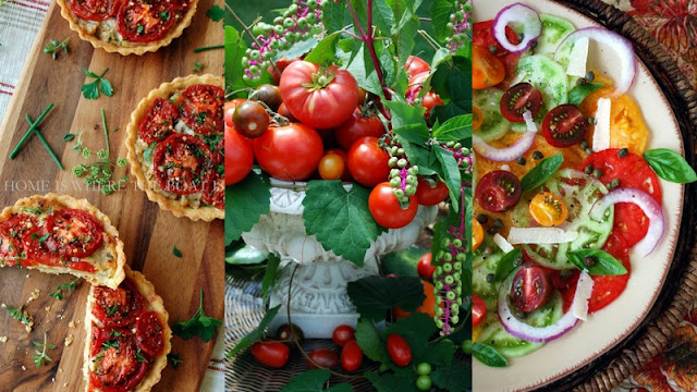 Tomatoes food styling