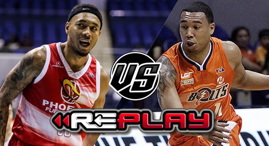 Video Playlist: Phoenix Pulse Fuel Masters vs Meralco Bolts replay 2019 PBA Philippine Cup January 16