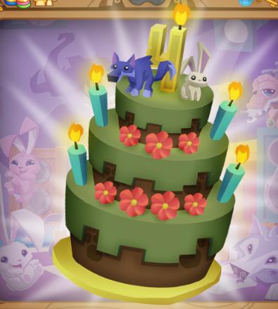 Animal Jam Birthday Cake Were To Click