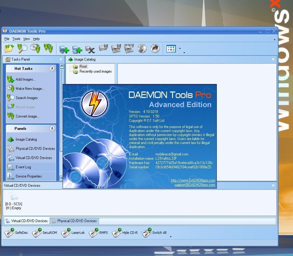 Daemon tools lite 10. 4. 0 free download freewarefiles. Com audio.