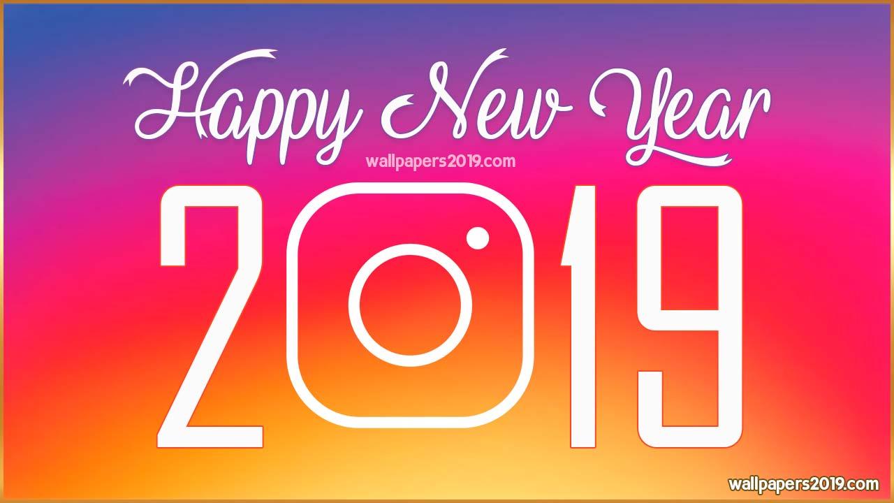Happy New Year 2019 Wallpapers instagram