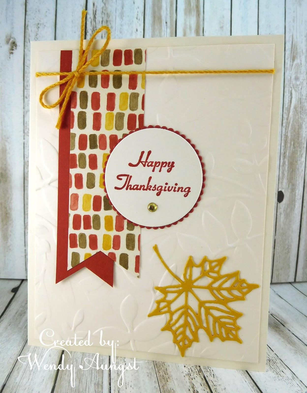 Weebeestampin4fun Happy Thanksgiving Card Set 3
