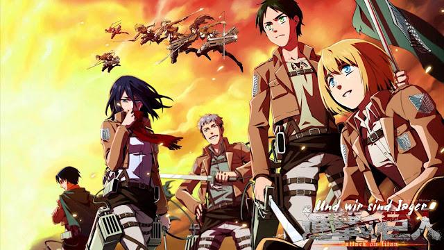 Anime Yang Mirip Dengan Attack on Titan [Update]