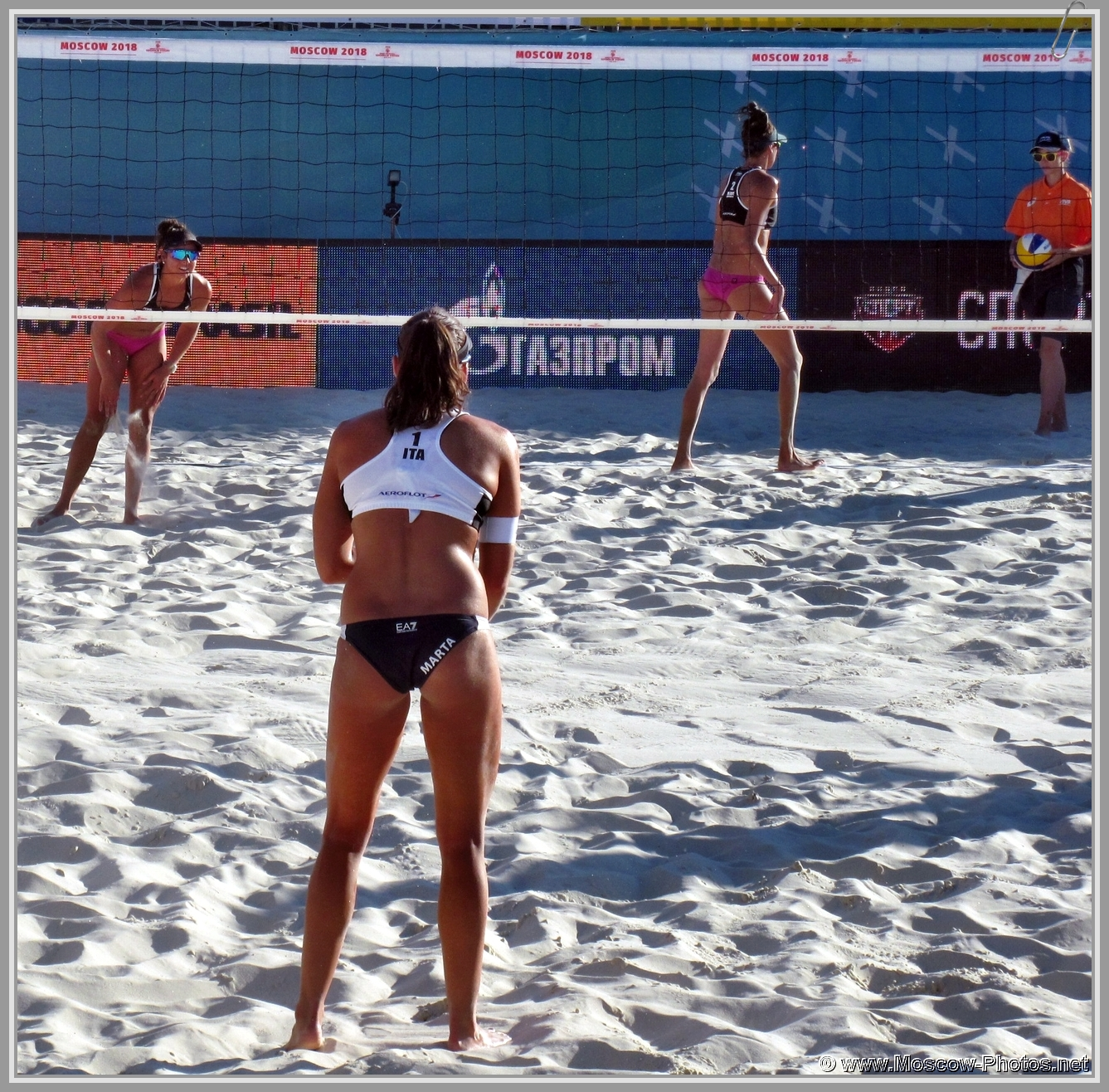 Marta Menegatti at FIVB Beach Volleyball World Tour