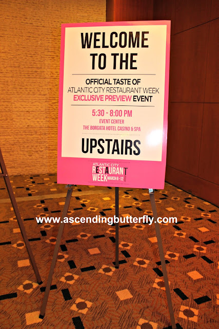 Welcome To The Official Taste Of Atlantic City Restaurant Week Exclusive Preview Event Event Center The Borgata Hotel Casino & Spa