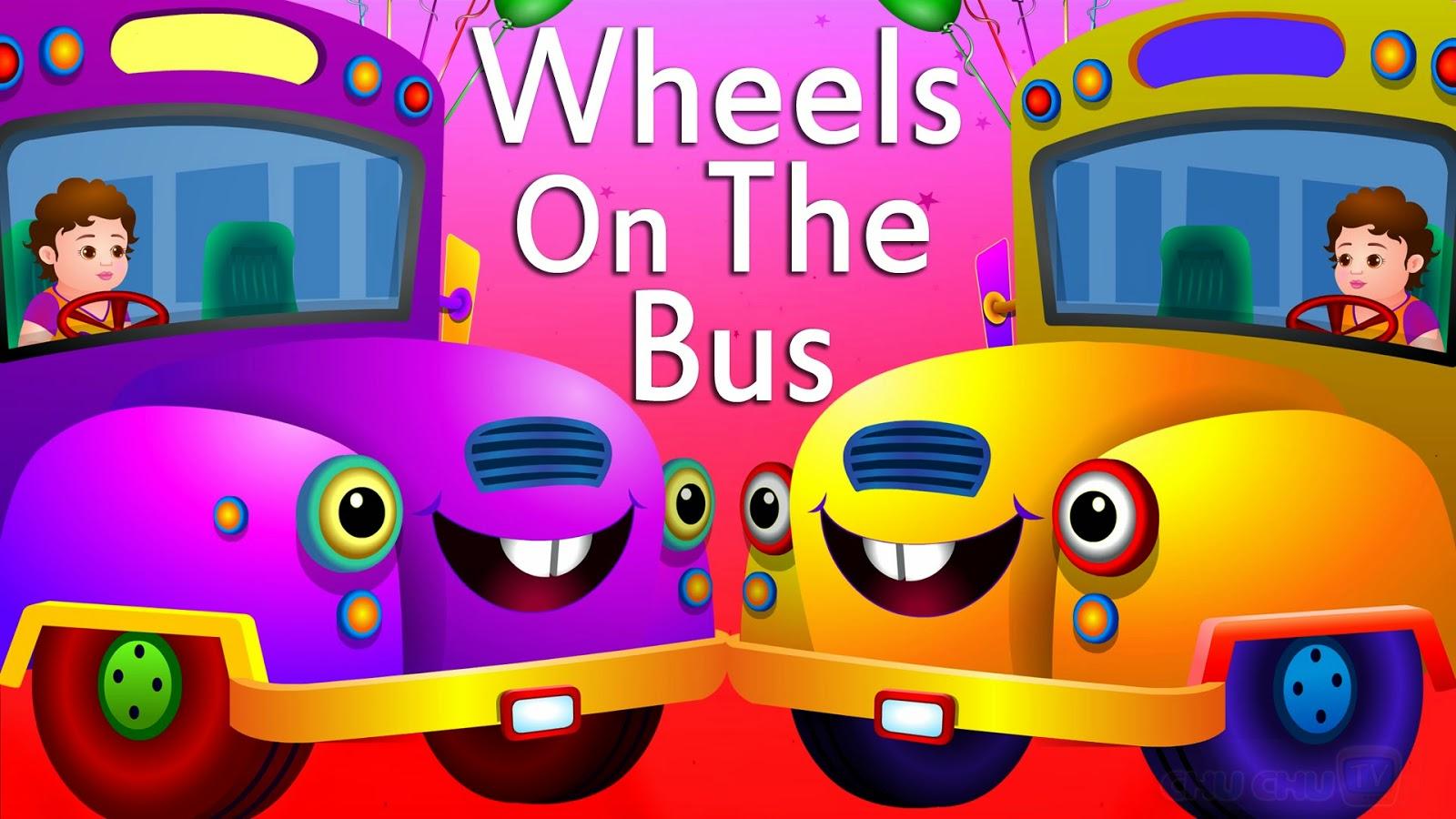 Wheels On The Bus English Nursery Rhyme