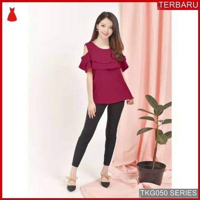 BJK50A26 Atasan blouse Gaya Murah di BMGShop