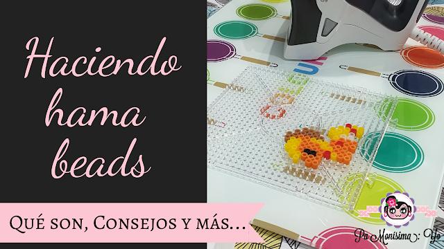 cómo hacer hama beads monerías en fieltro pamonisimayo